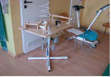 Tablica do ćwiczeń manualnych w szpitalu w więcborku