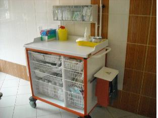 Wózek do intensywnej opieki medycznej w Szpitalu w Więcborku